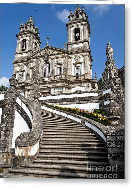 Staircase To Heaven Greeting Card by Jose Elias - Sofia Pereira
