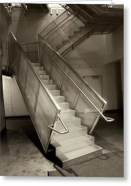 Stairs 01 Greeting Card