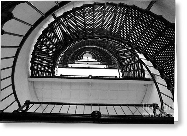 Stairs Greeting Card by Andrea Anderegg