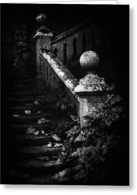Stairs Decay Greeting Card
