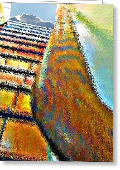 Stairway  Greeting Card