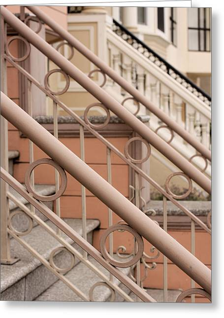 Stairway Detail Greeting Card by Denice Breaux