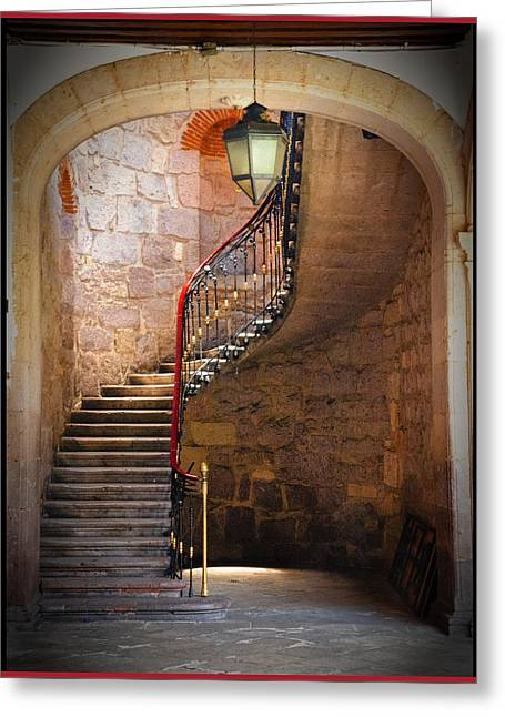 Stairway Of Light Greeting Card