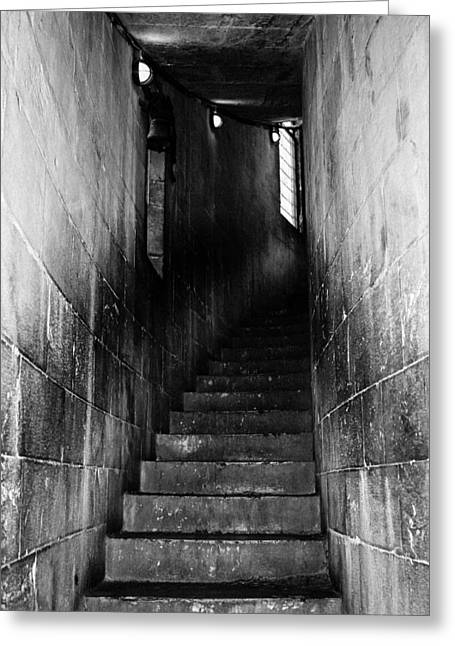 Stairway  Greeting Card by Steven  Taylor