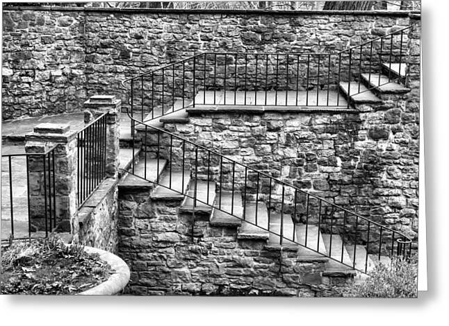 Stairway Greeting Card by Tim Buisman