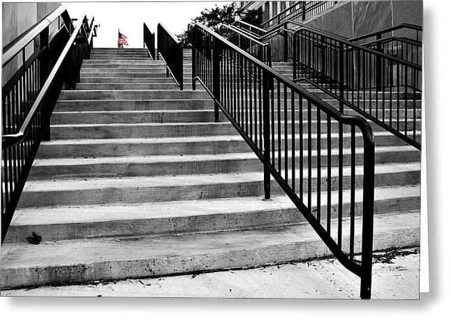 Stairway To Freedom Greeting Card