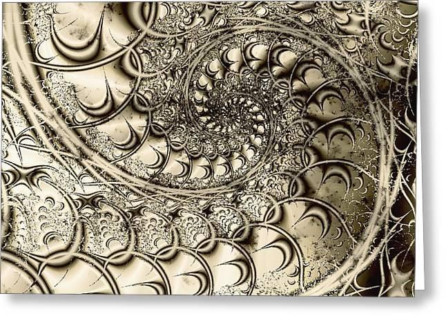 Stairway To Heaven Greeting Card by Anastasiya Malakhova