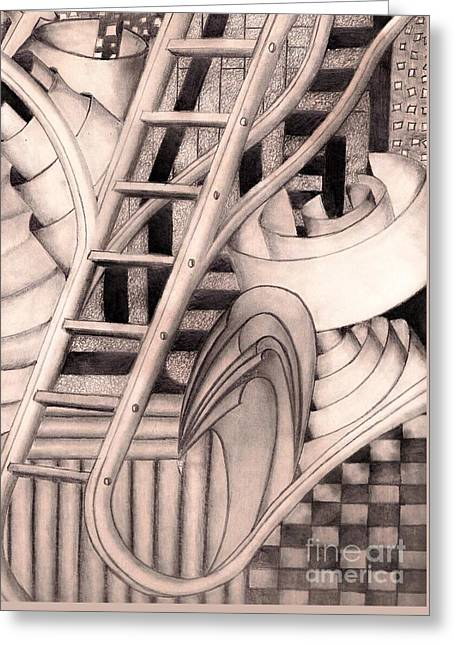 Stairway To.... Greeting Card