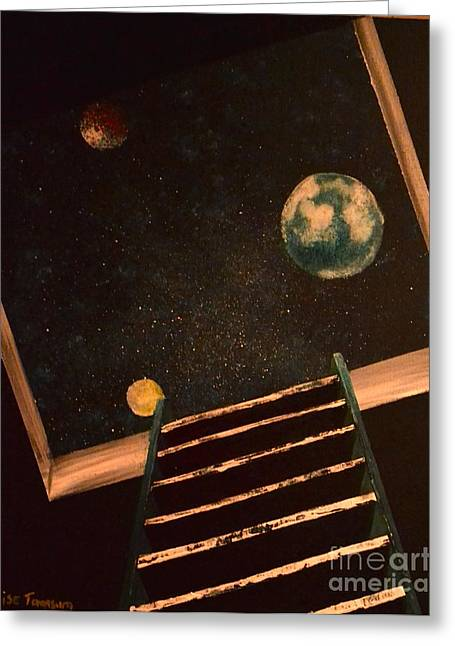 Stairwell To Heaven Greeting Card
