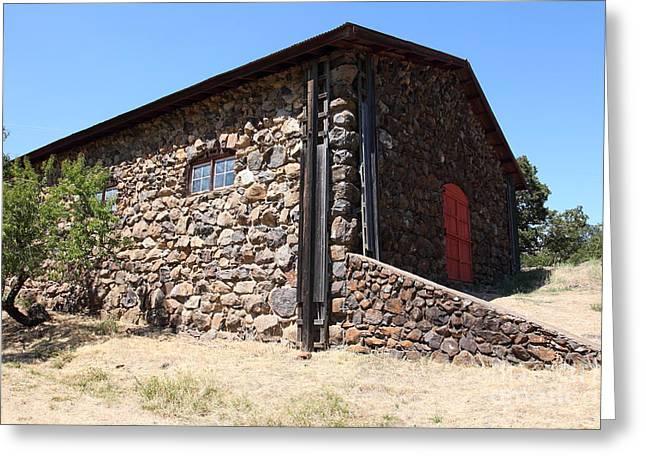 Stallion Barn At Historic Jack London Ranch In Glen Ellen Sonoma California 5d24580 Greeting Card