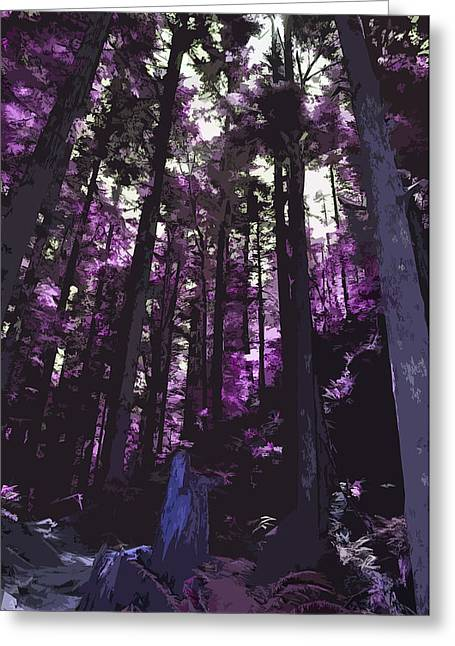 Stand Of Trees Greeting Card