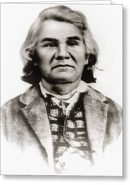 Stand Watie (1806-1871) Greeting Card by Granger