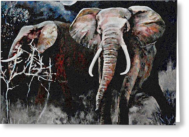 Stand Your Ground Greeting Card by Michael Durst