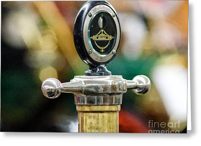 Standard Hood Ornament/radiator Cap Greeting Card by JRP Photography