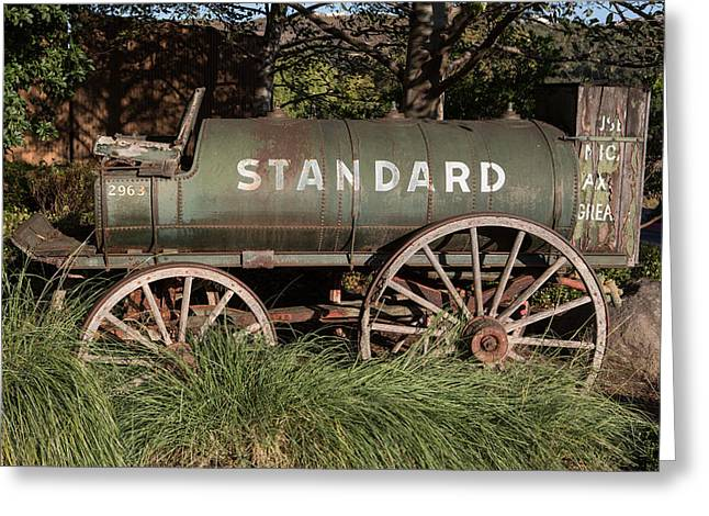 Standard Oil Greeting Card by John Hancock