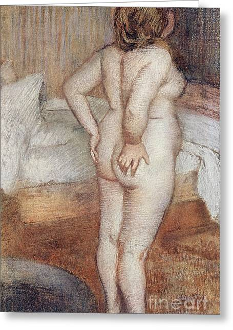 Standing Nude Greeting Card