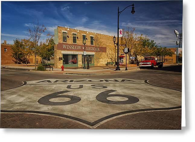 Standing On The Corner In Winslow Arizona Dsc08854