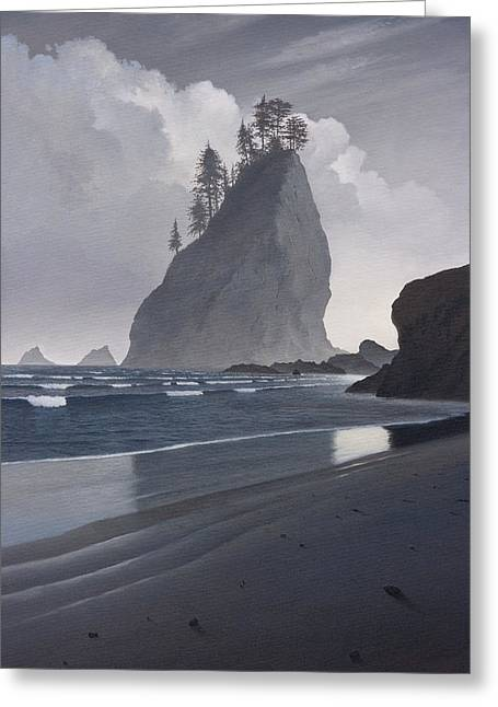 Standing Tall Greeting Card by Cliff Wassmann