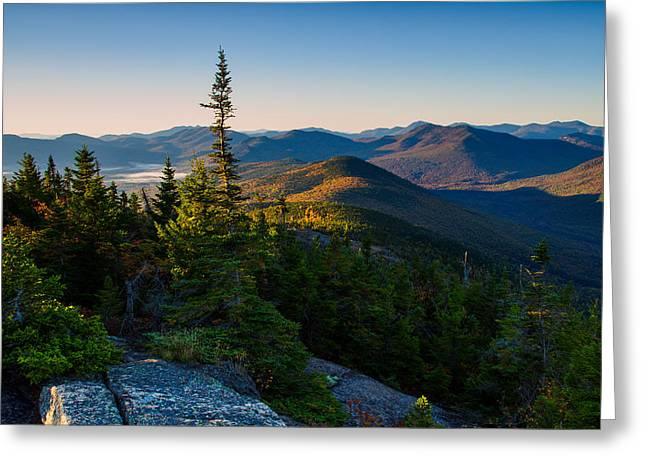 Standing Tall On Mt. Crawford Greeting Card