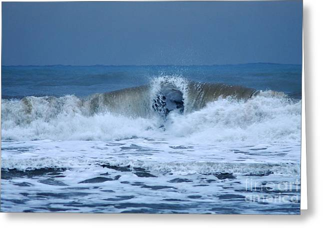 Dancing Of The Waves Greeting Card