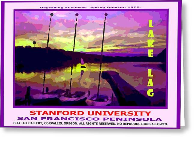 Stanford Lake Lagunita II Greeting Card by Michael Moore