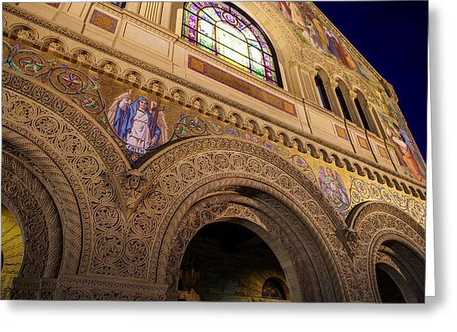 Stanford University Memorial Church Faith Greeting Card by Scott McGuire
