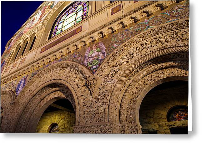 Stanford University Memorial Church Hope Greeting Card by Scott McGuire