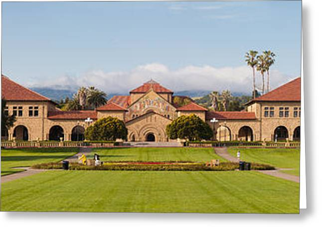 Stanford University Greeting Card by Georgia Fowler