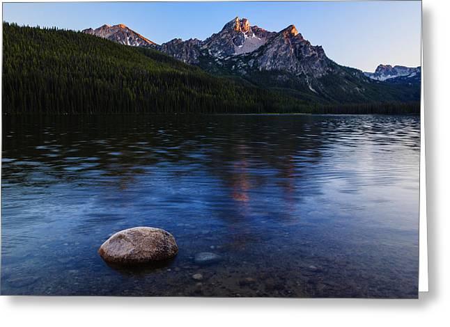 Stanley Lake Sunset Greeting Card by Vishwanath Bhat