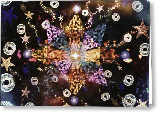Star Burst Greeting Card