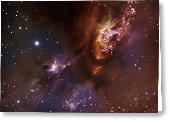 Star-forming Region Ldn 1551 In Taurus Greeting Card