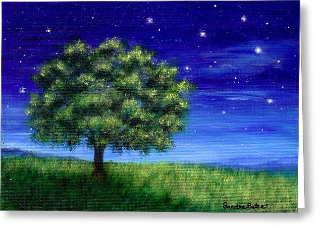 Star Gazing Greeting Card