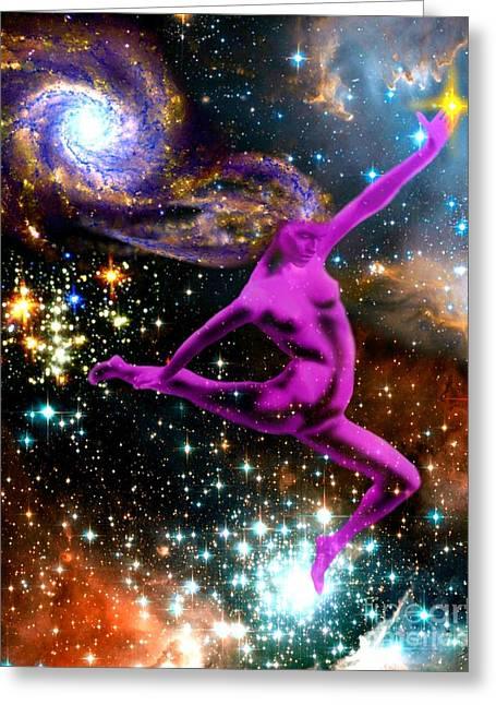 Star Goddess Greeting Card