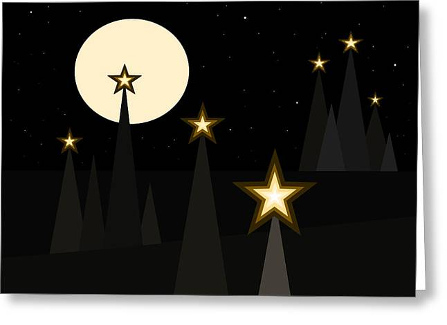 Star Light II Greeting Card