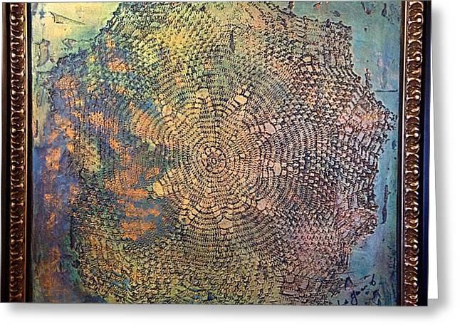 Star Masterpiece By Alfredo Garcia Art Greeting Card