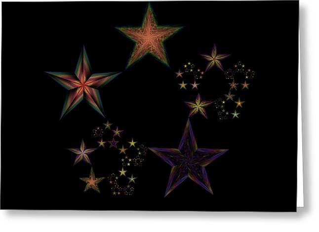 Star Of Stars 19 Greeting Card