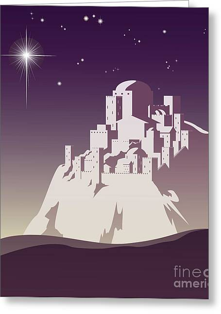 Star Over Bethlehem Greeting Card