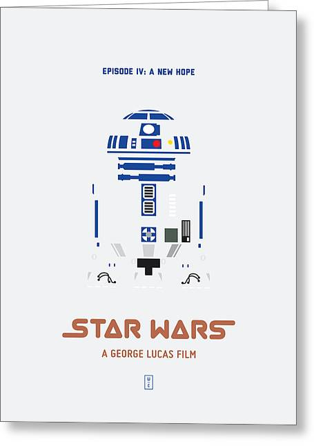 Star Wars Greeting Card by Smile In The  Mind