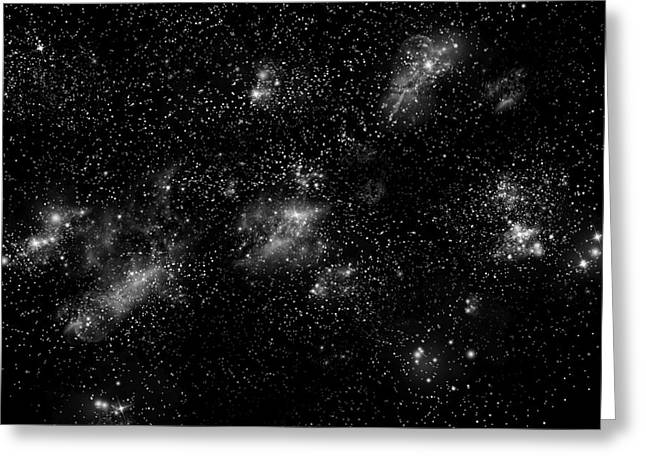 Starfield No.10414 Greeting Card by Marc Ward