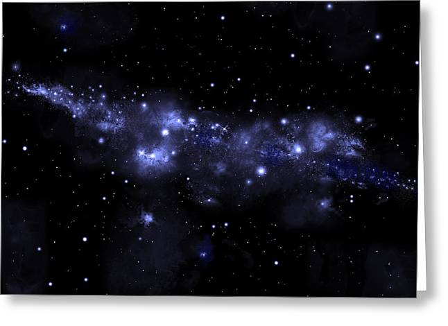 Starfield No.51713 Greeting Card by Marc Ward