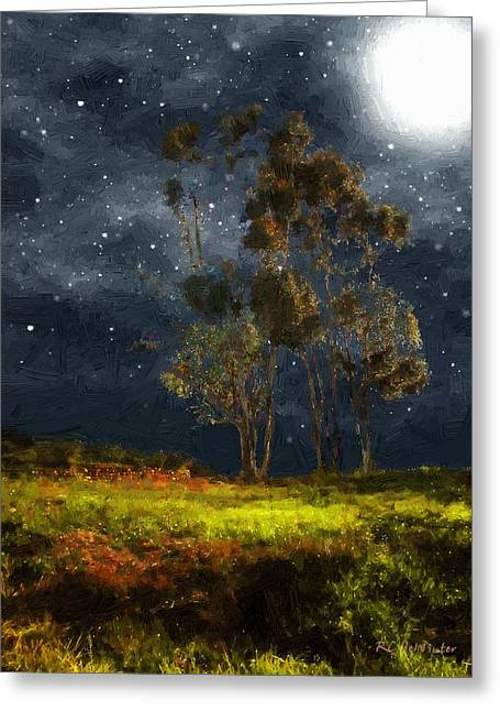 Starfield Greeting Card