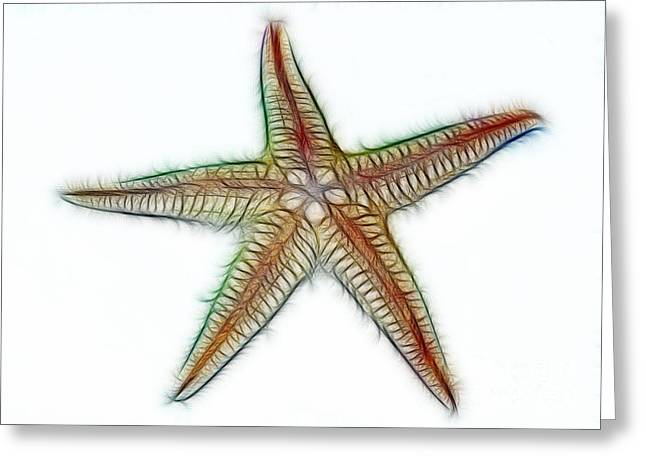 Starfish Art 2 Greeting Card
