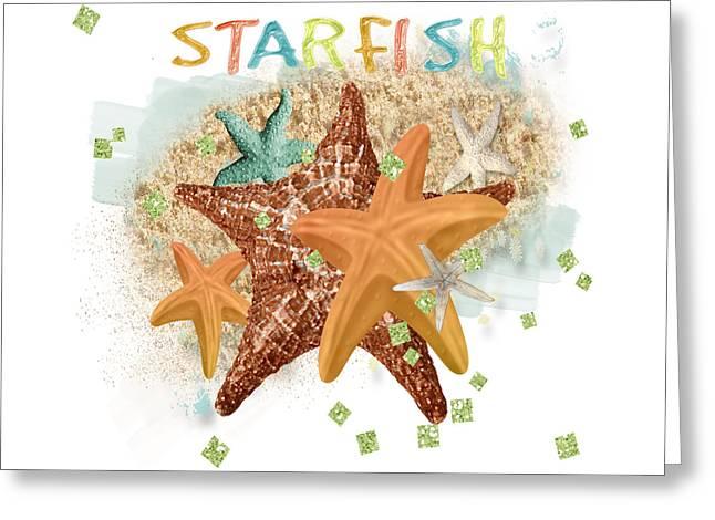 Starfish Dreams Greeting Card