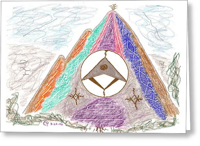 Stargate Greeting Card