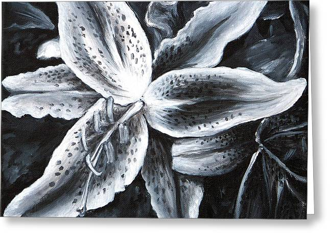 Stargazer Lilly Greeting Card