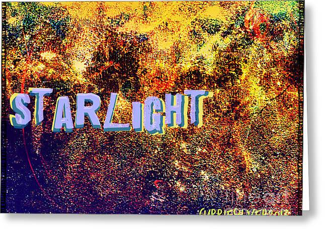 Starlight Greeting Card by Currie Silver