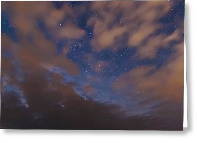 Greeting Card featuring the photograph Starlight Skyscape by Marty Saccone