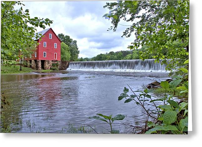 Starrs Mill Greeting Card by Gordon Elwell