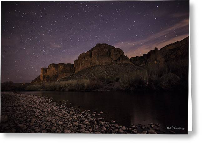 Starry Eyed Greeting Card by Bill Cantey