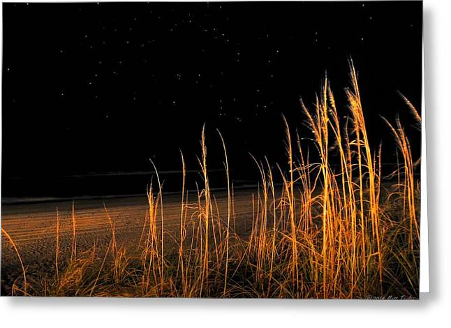 Starry Night Over The Atlantic Greeting Card